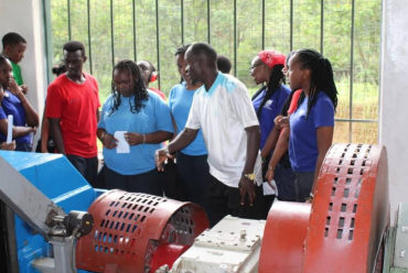Year 11 field trip to Amahoro Power Station in Musanze District