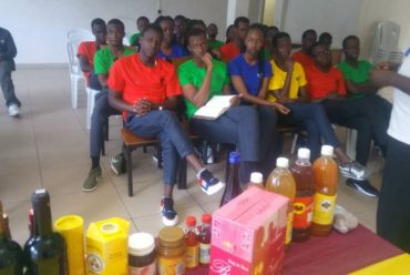 Business Technology (BTEC) Students Visit Nyirangarama Factory